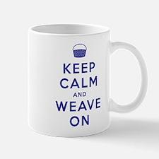 Keep Calm and Weave On Mug