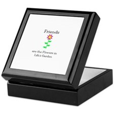 Friends are Flowers Keepsake Box