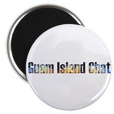 Guam Island Chat Magnet