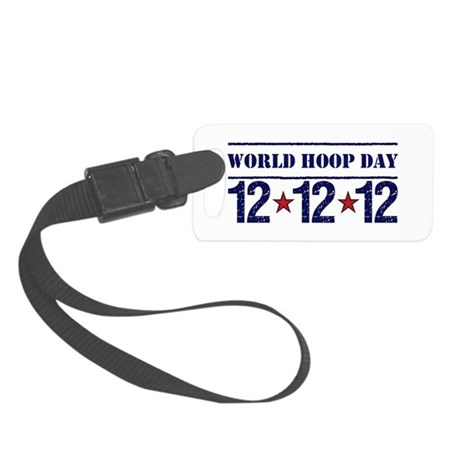 2012 Red Star Patriot Small Luggage Tag