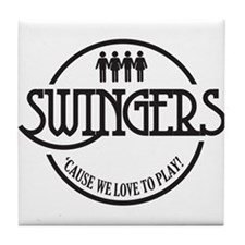 Swingers Tile Coaster