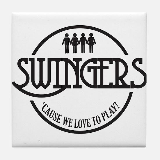Swingers Tile Coaster