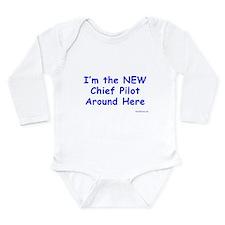 new chief pilot babyshirt Body Suit