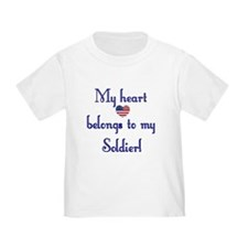 Heart Belongs 2 Toddler Tee (A)