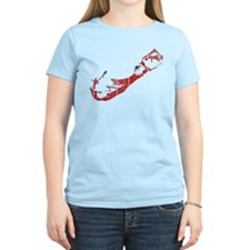 Bermuda Flag And Map T-Shirt