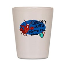Lobster Joe's Fishey Fun Show Shot Glass
