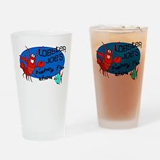 Lobster Joe's Fishey Fun Show Drinking Glass