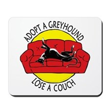 Lose a Couch (R) Mousepad