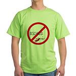 (Keine) Beschneidung Green T-Shirt