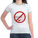 (Keine) Beschneidung Jr. Ringer T-Shirt