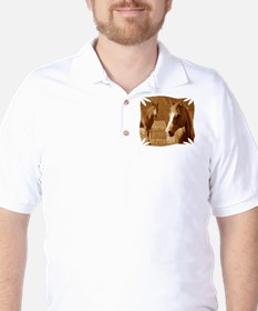 horse sepia picture T-Shirt