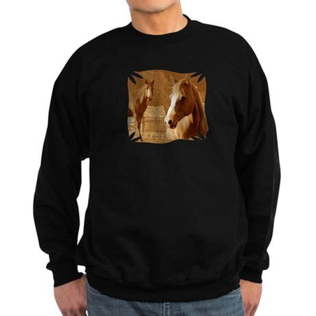 horse sepia picture Sweatshirt (dark)