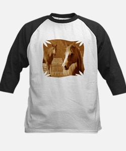horse sepia picture Tee
