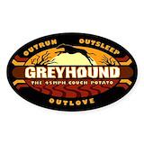 Greyhound Bumper Stickers
