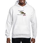 Fish like a girl Hooded Sweatshirt
