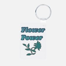 Flower Power Keychains