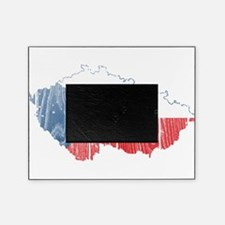 Czech Flag And Map Picture Frame