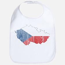 Czech Flag And Map Bib