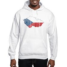 Czech Flag And Map Jumper Hoody