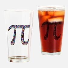 Pi (multicolor) Drinking Glass