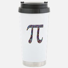 Pi (multicolor) Stainless Steel Travel Mug