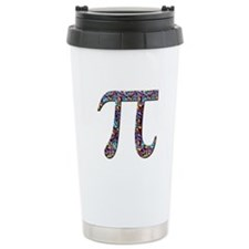 Pi (multicolor) Travel Mug