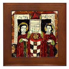 Saints Peter And Paul Framed Tile