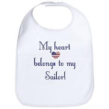 Heart Belongs 2 Bib (N)