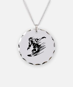 Snowboarding Necklace