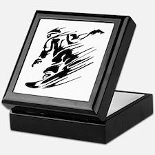 Snowboarding Keepsake Box