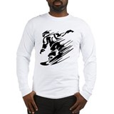 Snowboarding Long Sleeve T Shirts