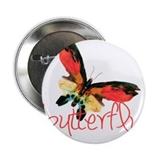 "Butterfly by Albert Bierstadt 2.25"" Button"