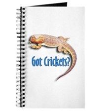 Bearded Dragon 2 Got Crickets Journal