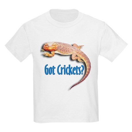Bearded Dragon 2 Got Crickets Kids T-Shirt