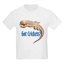Bearded Dragon 2 Got Crickets Kids T-Shirt