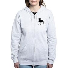 Staffordshire Bull Terrier Zip Hoody