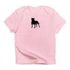 Staffordshire Bull Terrier Infant T-Shirt
