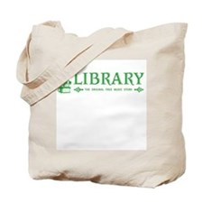 Library has Free Music Tote Bag