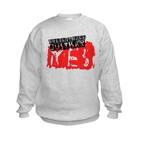 Prevent Rape Kids Sweatshirt