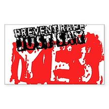 Prevent Rape Decal