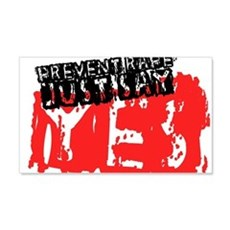 Prevent Rape Wall Decal