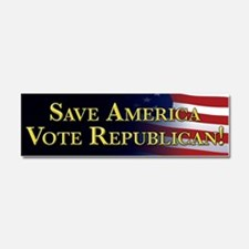 Save America Vote Republican! Car Magnet 10 x 3