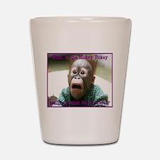 Hokey Pokey Orangutan Shot Glass