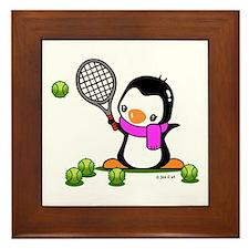 Tennis (9) Framed Tile