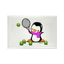 Tennis (9) Rectangle Magnet