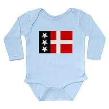Arpitania flag Long Sleeve Infant Bodysuit