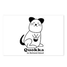 Quokka v.1 Postcards (Package of 8)