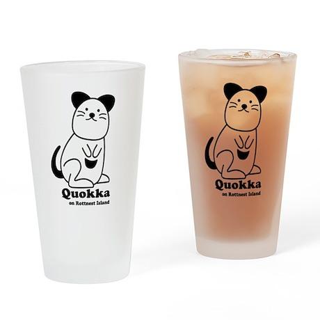 Quokka v.1 Drinking Glass