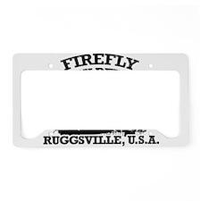 FIREFLY FAMILY REUNION License Plate Holder