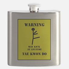 Taekwondo Warning Flask